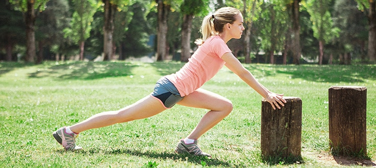 Esercizi piede allenamento