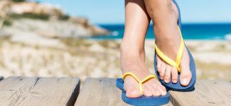 Infradito problemi ai piedi